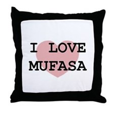 Unique Mufasa Throw Pillow