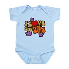 I Love The 70's Infant Bodysuit