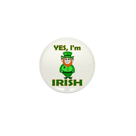 Yes I'm Irish Mini Button (10 pack)