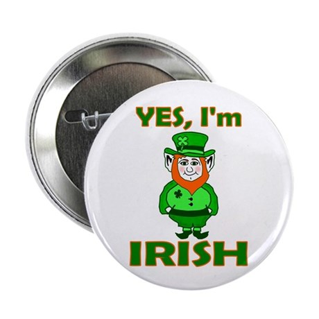 "Yes I'm Irish 2.25"" Button (10 pack)"
