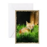PhotoArt Red Fox Greeting Cards (Pk of 10)