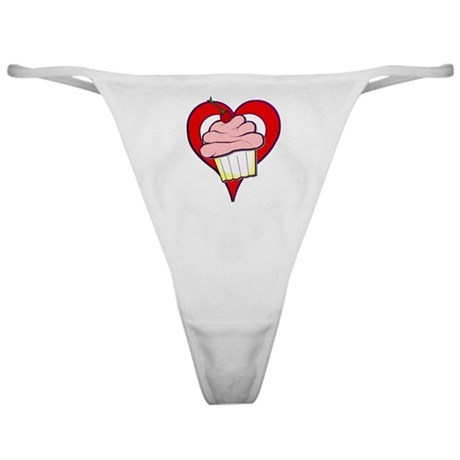 Valentine Cupcake Classic Thong