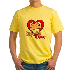 Cupcake Love Yellow T-Shirt
