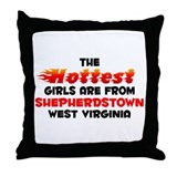 Hot Girls: Shepherdstow, WV Throw Pillow