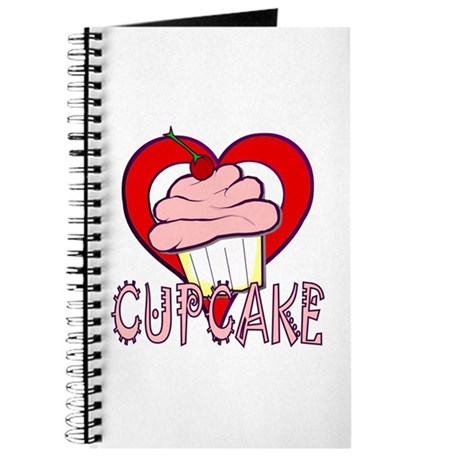 Valentine Cherry Cupcake Journal