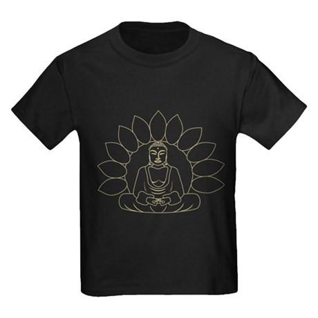 Lotus Buddha Kids Dark T-Shirt