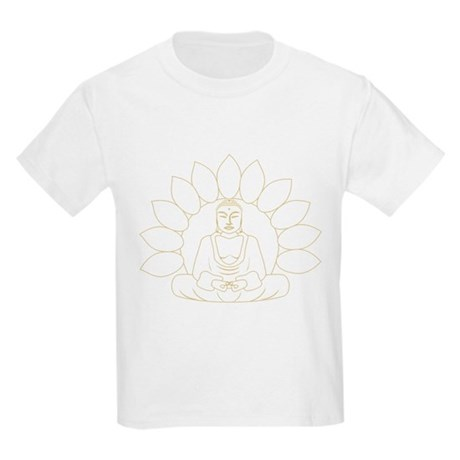 Lotus Buddha Kids Light T-Shirt