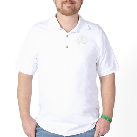 Lotus Buddha Golf Shirt