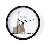 I dig dirty Wall Clock