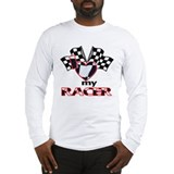 I Heart My Racer Long Sleeve T-Shirt