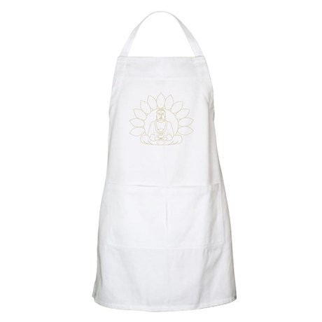 Lotus Buddha BBQ Apron