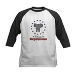 Future Republican Elephant Kids Baseball Jersey