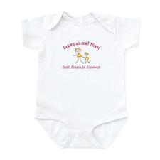 Brianna & Mom - Best Friends  Infant Bodysuit