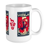 American Vizsla- Obey the V! LARGE Mug