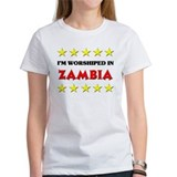 I'm Worshiped In Zambia Tee
