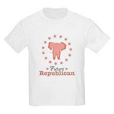 Pink Future Republican Elephant T-Shirt