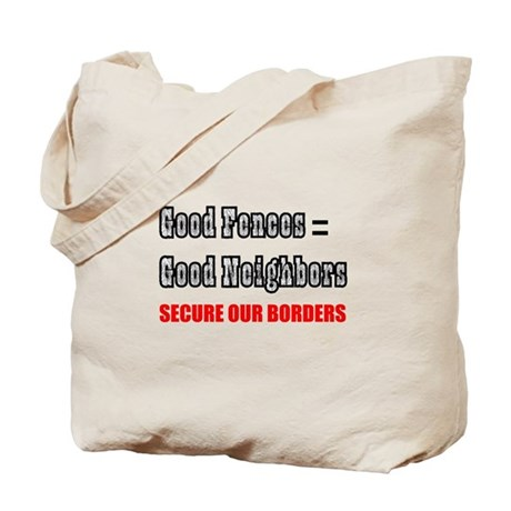 Anti Illegal Immigration Tote Bag