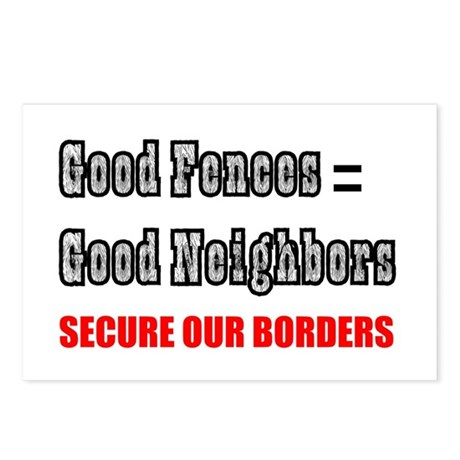 Anti Illegal Immigration Postcards (Package of 8)