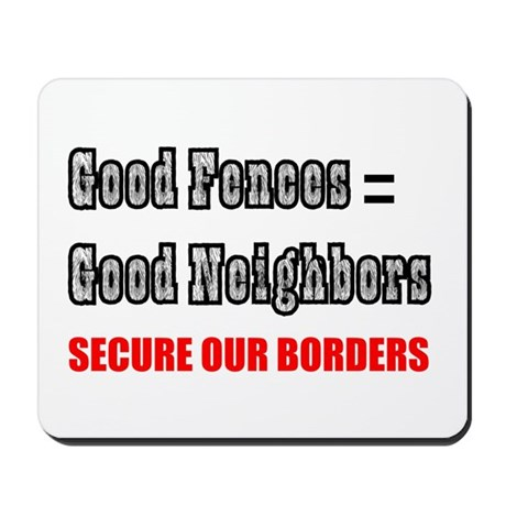 Anti Illegal Immigration Mousepad