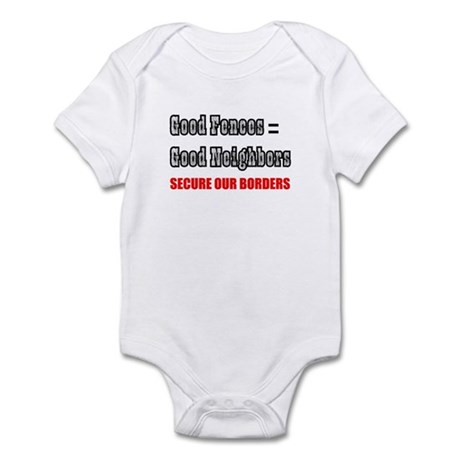 Anti Illegal Immigration Infant Bodysuit