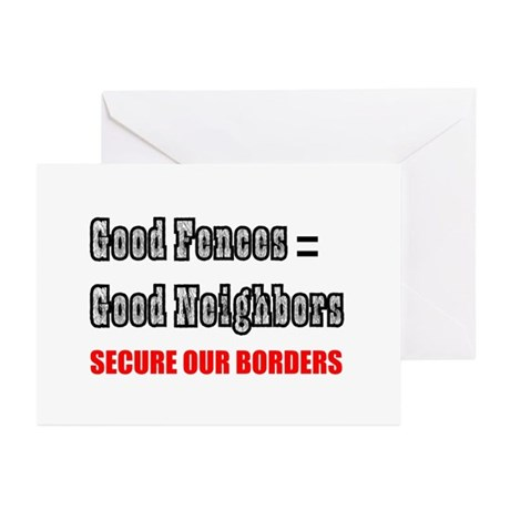 Anti Illegal Immigration Greeting Cards (Pk of 10)