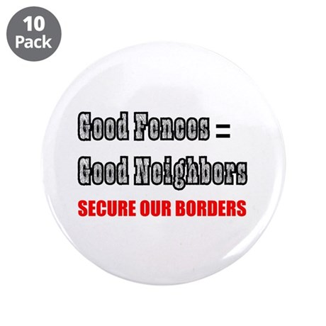 "Anti Illegal Immigration 3.5"" Button (10 pack)"