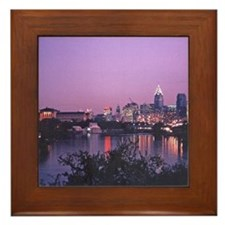 Philadelphia - 1986 Framed Tile