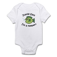 Zayde Says I'm a Keeper! Infant Bodysuit