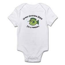 Great Grandpa Says I'm a Keeper! Baby Onesie