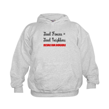 Anti Illegal Immigration Kids Hoodie