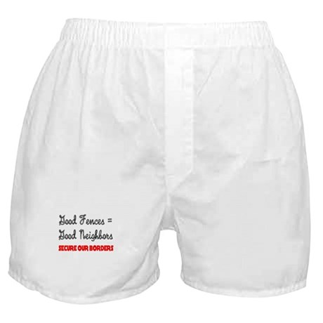 Anti Illegal Immigration Boxer Shorts