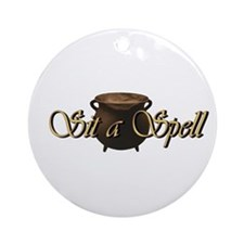 Gypsy Lounge's ~ Sit A Spell Kitchen Witch Ball