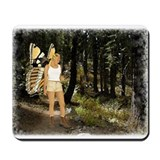 Cassi the geocaching fairy  Mousepad