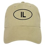 Israel Oval Hat