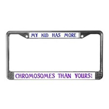 My kid has more / plate frame