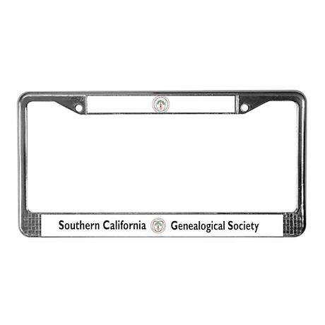 SCGS Brake for Cemeteries License Plate Frame