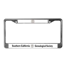 SCGS Past Lane License Plate Frame