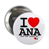 inconsistentAna's I love Ana Button