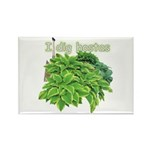 I dig hostas Rectangle Magnet (100 pack)