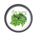 I dig hostas Wall Clock