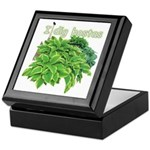 I dig hostas Keepsake Box