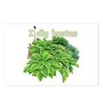 I dig hostas Postcards (Package of 8)