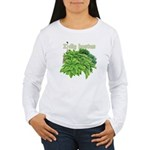 I dig hostas Women's Long Sleeve T-Shirt