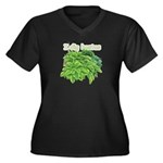 I dig hostas Women's Plus Size V-Neck Dark T-Shirt