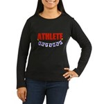 Retired Athlete Women's Long Sleeve Dark T-Shirt