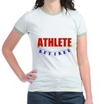 Retired Athlete Jr. Ringer T-Shirt