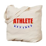 Retired Athlete Tote Bag