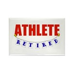Retired Athlete Rectangle Magnet (100 pack)