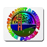 Cute Haight ashbury Mousepad