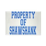 Property of Shawshank Rectangle Magnet